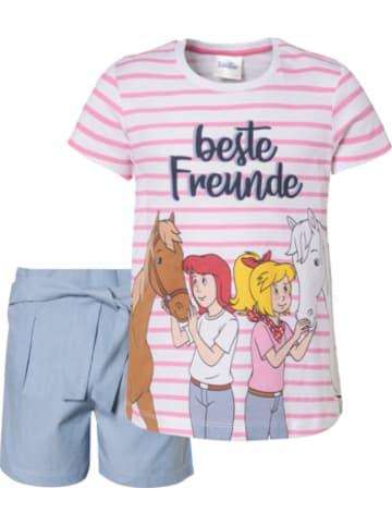 Bibi und Tina Bibi&Tina Set T-Shirt und Shorts