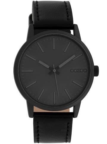 Oozoo Damenuhr Grau/Schwarz 40 mm
