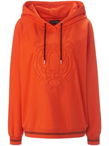LOOXENT Sweatshirt Sweatshirt in orange