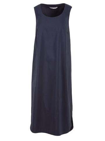 HELMIDGE Sommerkleid Midikleid in dunkel blau