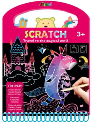 Avenir Scratch Book Magical World Kratzbilder