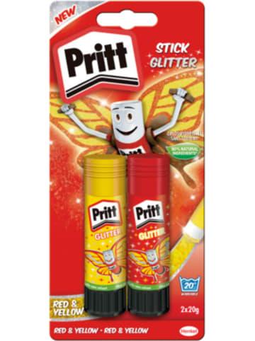 Henkel Pritt Klebestifte Glitzer, 2 x 20 g