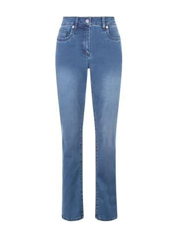 Million X - Women Damen Jeans Rita Powerstretch in stone blue denim