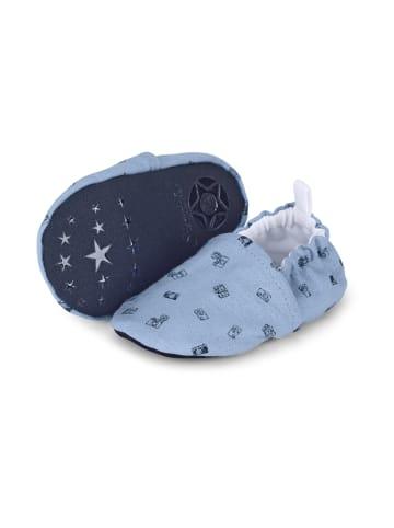 Sterntaler Baby-Krabbelschuh in himmelblau