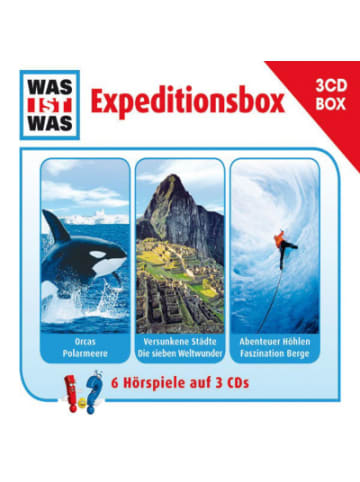 UNIVERSAL CD Was Ist Was - Expeditionsbox