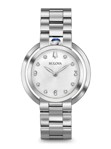 Bulova Analog Uhr 'Rubaiyat' in Silber/Silber