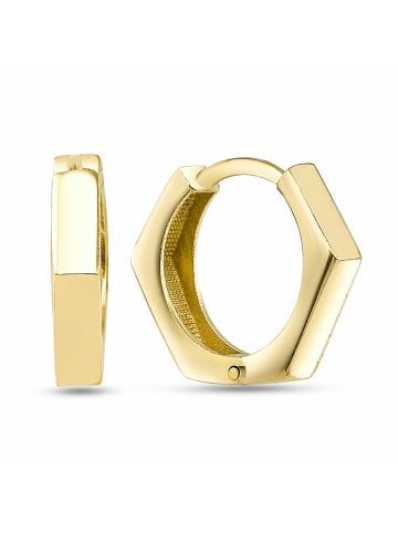 Dkeniz Creolen 925/- Sterling Silber in Gold
