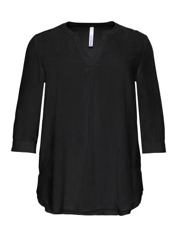 Sheego Tunika in schwarz