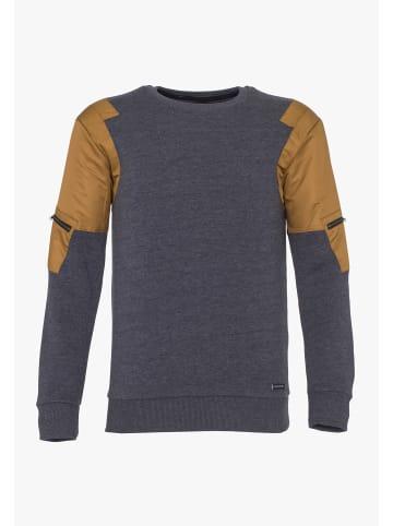 PLUS EIGHTEEN Sweater in Marine Melange