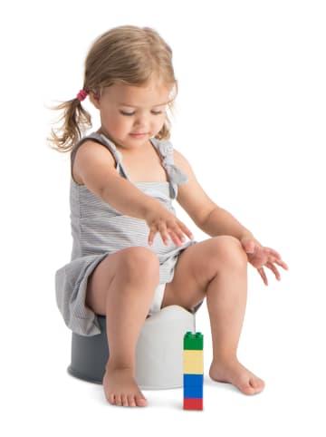 Buubla Buubla Travel Potty Faltbarer Toilettensitz für Kinder in grau / weiß