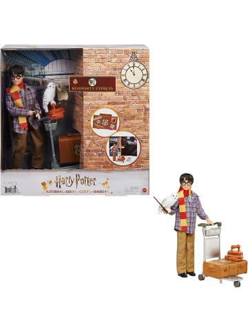 Mattel Harry Potter Gleis 9 3/4 Spielset mit Harry Potter Puppe & Hedwig Figur