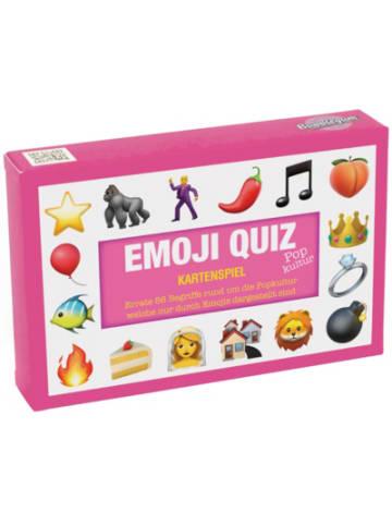 """Bubblegum Quiz-Karten """"Kennst du das Emoji Popkultur"""""""