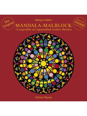 Neptun Media Mandala-Malblock