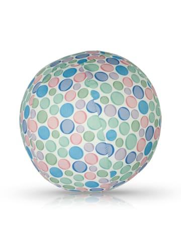 BubaBloon  Textile Ballonhülle mit pastellfarbenem Kreismotiv