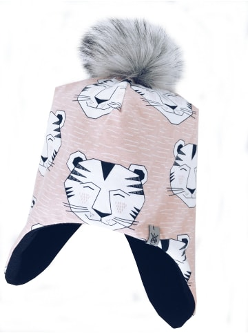 """One2three Outfits  Wintermütze """"Tiger"""" in Rosa"""