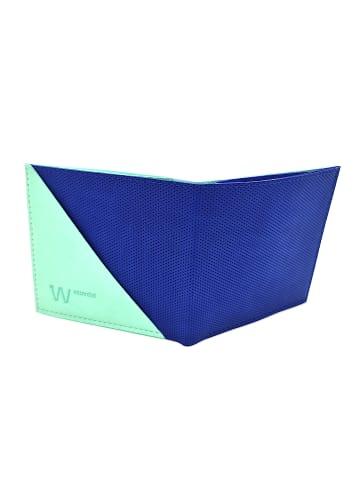Baggizmo Geldbörse Baggizmo smartes Portmonnaie in true blau