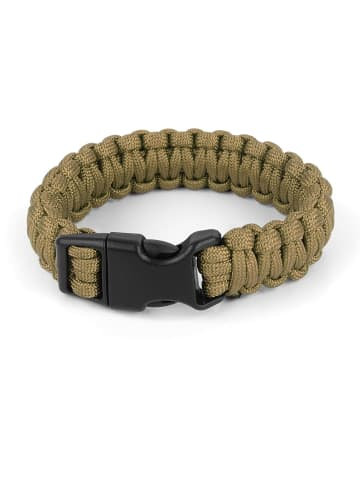 Normani Survival-Armband Paracord 17 mm Large in Coyote
