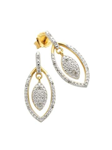 Diamonds by Ellen K. Ohrstecker 925/- Sterling Silber in gelb