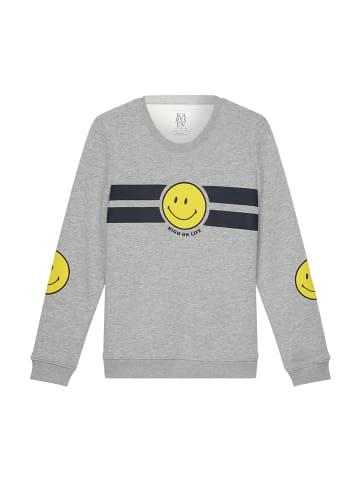 ZOE KARSSEN Sweatshirt in Grey Melee