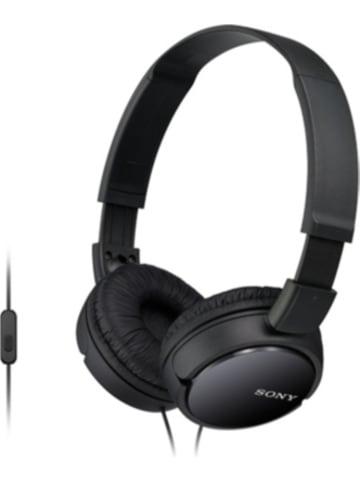 Sony Geschlossene Supra Aural-Kopfhörer mit weichen Ohrpolstern MDRZX110B
