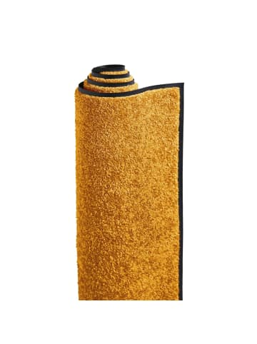 Pureday Fußmatte wash+dry, Gelbgold