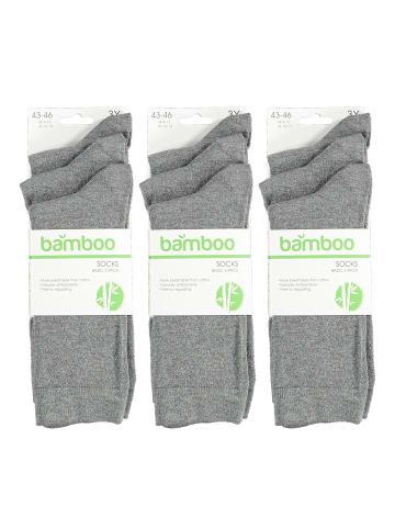 Apollo Socken in medium grey melange