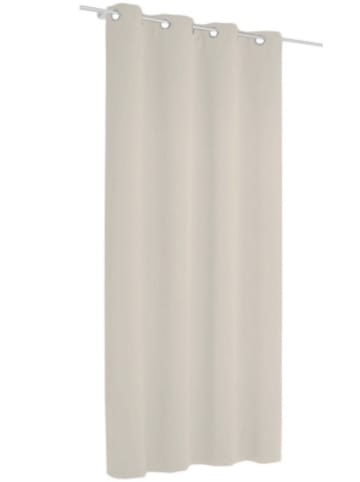 Albani Vorhang Black Out, blickdichter Verdunkelungsvorhang, 245 x 135 cm, hellgra...