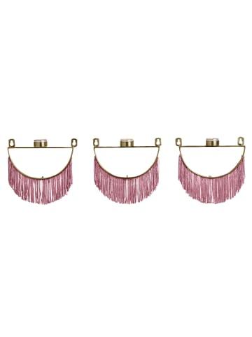 Impressionen Living Wandteelichthalter-Set, 3-tlg. in goldfarben/rosé