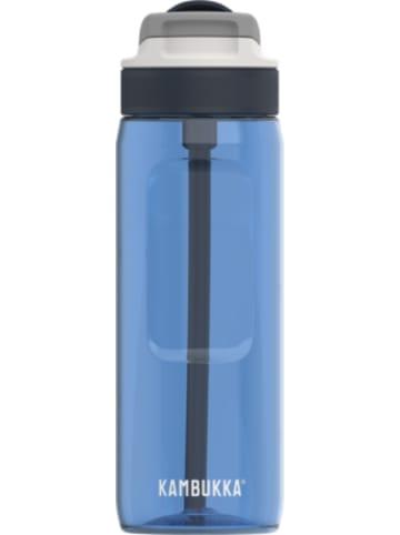 KAMBUKKA® Tritan-Trinkflasche LAGOON Spout Royal Blue, 750 ml, inkl. Trinkhalm