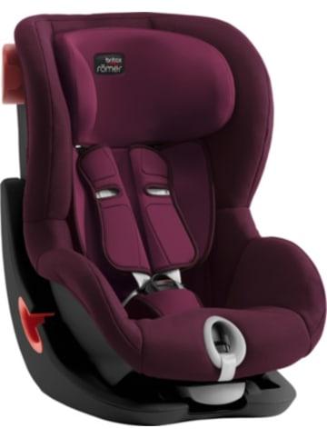 Britax römer Auto-Kindersitz King II, Black Series, Burgundy Red