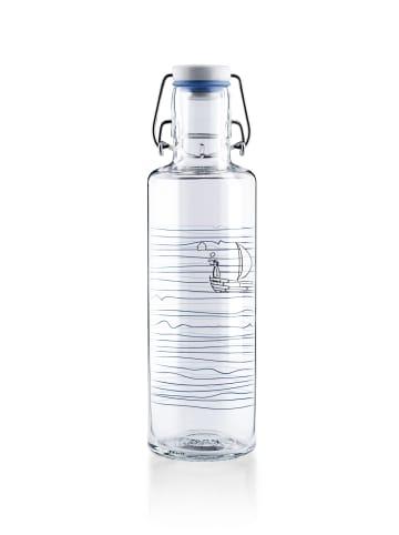 """Soulbottles Trinkflasche """"Heimat.Wasser"""" in Blau - 600ml"""