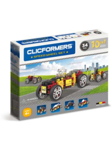 CLICFORMERS - Rennwagen Set - 34 Stück