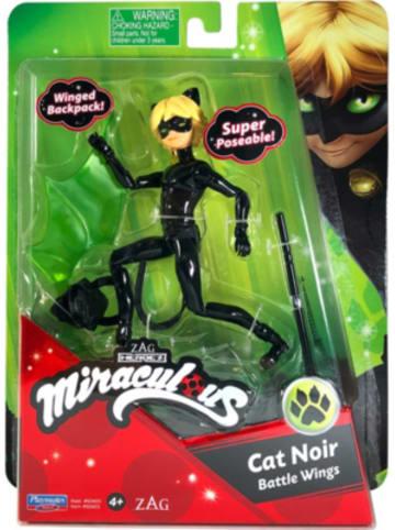 BANDAI Miraculous Mini Puppe - Cat Noir