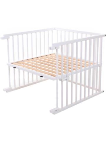 Tobi Kinderbett Umbausatz für babybay maxi, weiß lackiert