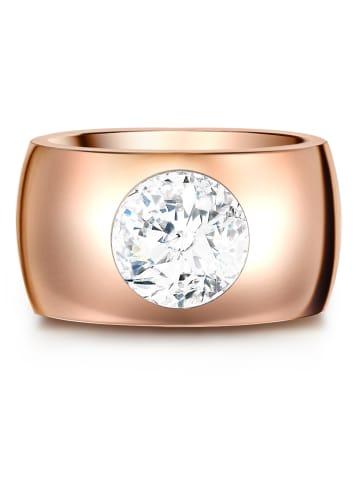 Stella Copenhagen Ring Edelstahl verziert mit Kristallen von Swarovski® in Roségold in roségold