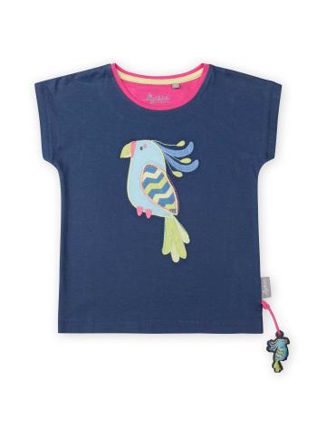 """Sigikid T-Shirt """"Paradiesvogel"""" in Dunkelblau"""