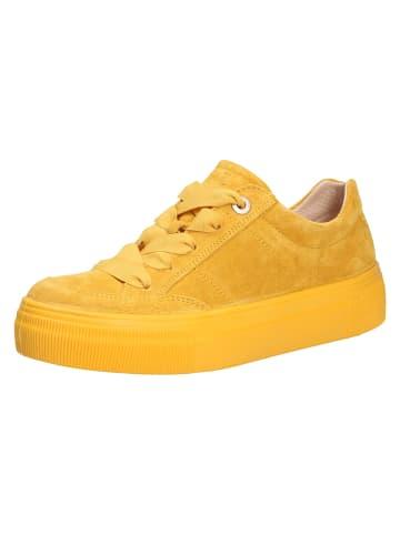 Legero Schnürschuhe in gelb