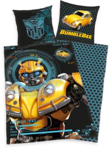 Herding Wende-Kinderbettwäsche Transformers Bumblebee, Renforcé, 135 x 200 +...