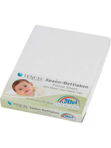 Alvi Spannbettlaken TENCEL®, weiß, 70 x 140 cm