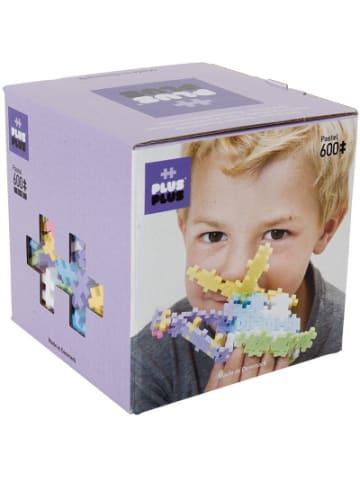 PLUS PLUS Open Play Pastel Kunststoff-Bausteine, 600 Teile
