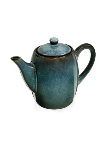 Sänger Teekanne Darwin in Blau