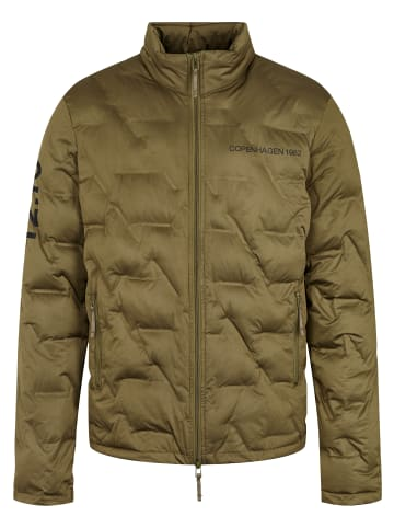 Twelvesixteen 12.16 Steppjacke Quilted Olive in olive
