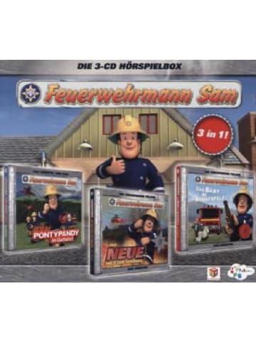 Justbridge Entertainment Germany Feuerwehrmann Sam Hörspielbox. Box.1, 3 Audio-CDs