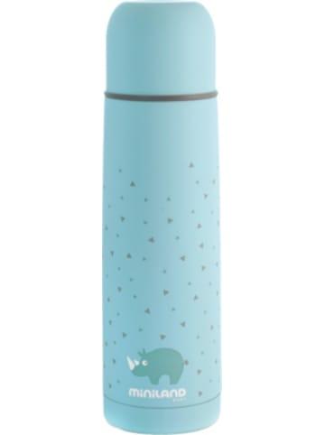 Miniland Thermoflasche Silky Thermo, 500 ml, blau