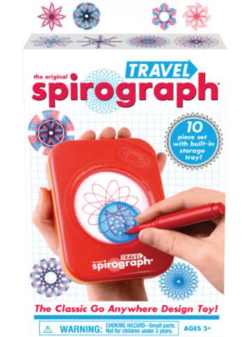 "BOTI Schablonen-Set Spirograph ""Travel"""