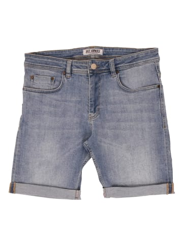 Just Junkies Jeansshorts Shorts Mike Shorts Of-1846 Plain in blue