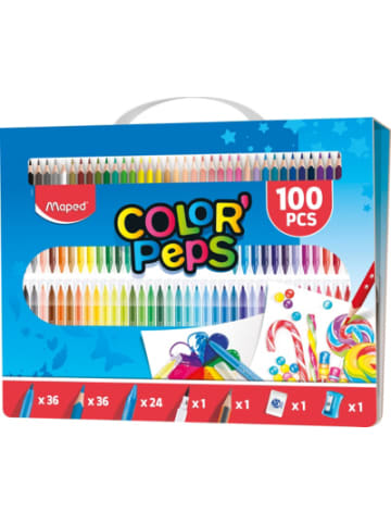 Maped Stifte-Set COLOR PEPS, 100 Teile