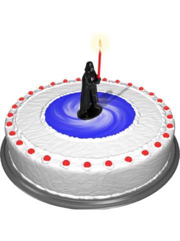 Dekoback Kuchenkerze Star Wars Darth Vader