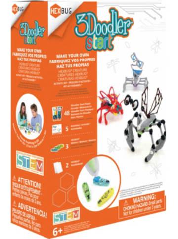 HCM 3Doodler Start Robotic Creature Activity Kit Hexbug
