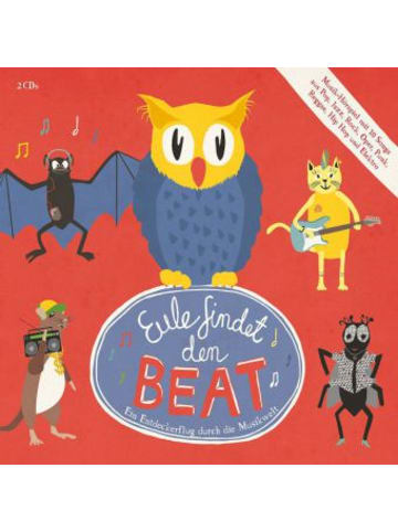 Universal Music Eule findet den Beat, 2 Audio-CDs